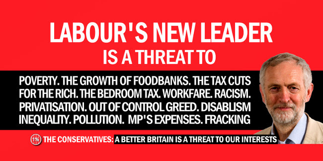 Image result for corbyn poster