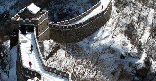 Great Wall -- World Heritage Site | China, Great Wall China and Snow