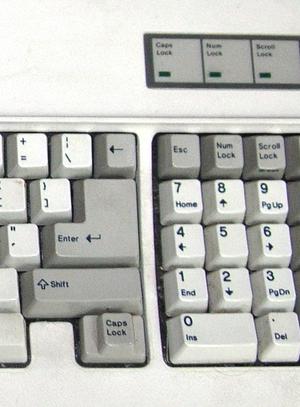 English: IBM AT Keyboard