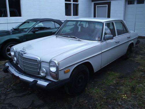 Purchase used 1976 Mercedes Benz 300D diesel good original ...