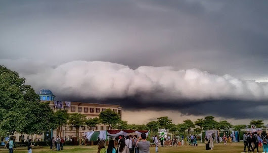 Stunning images of rare cloud formation in Islamabad - Islamabad Scene