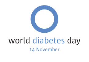 Logo for the World Diabetes Day