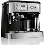 De'Longhi BCO 430 10-Cup Drip Coffee Maker and Espresso Machine - Stainless Steel