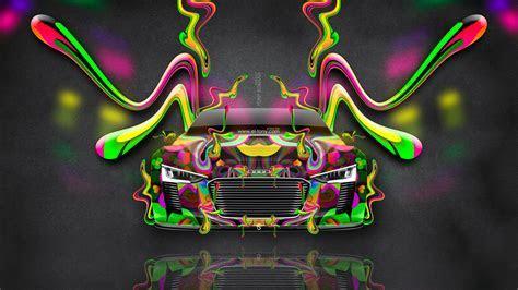 4K Audi e tron Spyder Front Super Plastic Fly Car 2015   el Tony