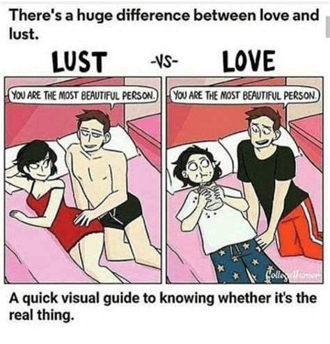 Difference Between Love And Lust Quotes