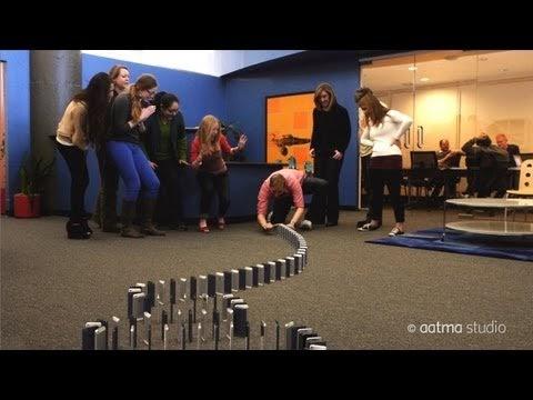 10,000 iPhone 5 Domino's Spectacular Video