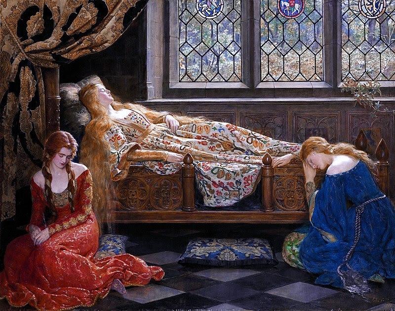 The sleeping beauty by John Collier 1.jpg