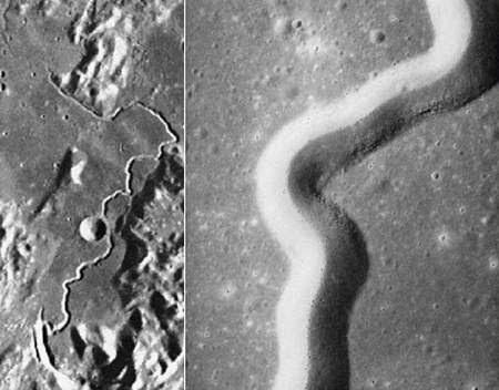 Gambar celah yang panjangnya 125 kilometer dan kedalaman 400 meter dan lebar 1.500 meter.