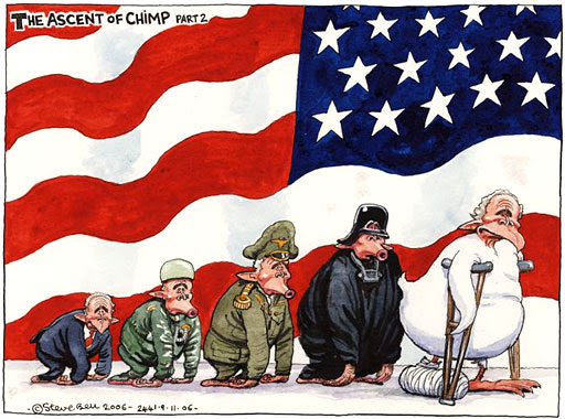 09.11.06: Steve Bell on the US midterm elections