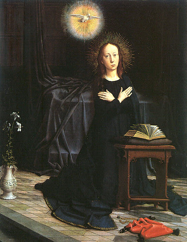 Gerard David Annunciation in the Met