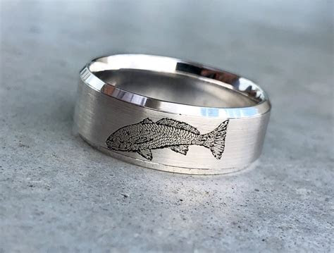 Bragging a little .new style of Fish Wedding Band   The