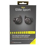 Jabra Elite Sport Earset - Stereo - Black - Wireless - Bluetooth - 32.8 ft - 16 Ohm - 20 Hz - 20 kHz - Earbud - Binaural - In-ear - 100-98600001-02
