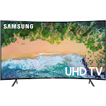 "Samsung 7 Series UN55NU7300F - 55"" Curved LED Smart TV - 4K UltraHD"