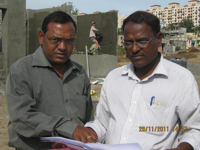 Ravi Gope and Balasaheb Lagad, Chief Engineer, Urbangram Kirkatwadi, A 2 BHK Flat for Rs. 25 Lakhs on Sinhagad Road, Pune 411 024