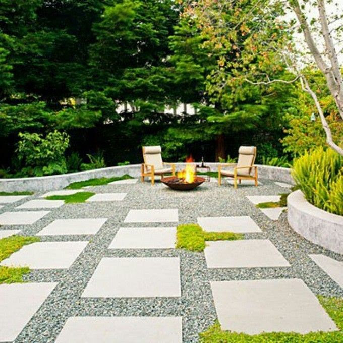 No Grass Back Yard Landscaping Ideas