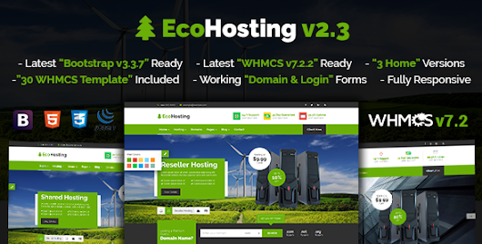 Download EcoHosting | Responsive HTML5 Hosting and WHMCS Template nulled | OXO-NULLED