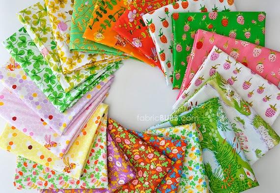 Half Yard Bundle, COMPLETE, Briar Rose Fabric Collection, Heather Ross, Windham Fabrics, Half Yard Set