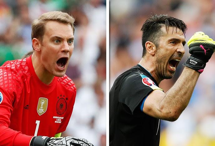 Neuer x Buffon (Foto: Reuters)