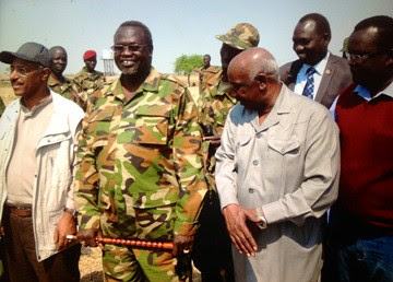 Former Vice-President Riek Machar in South Sudan during mediation. East African leaders are seeking an end to the fighting. by Pan-African News Wire File Photos