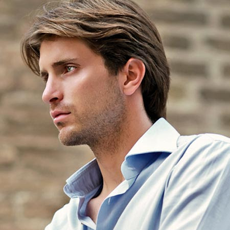 How to Style Mens Medium Length Hair