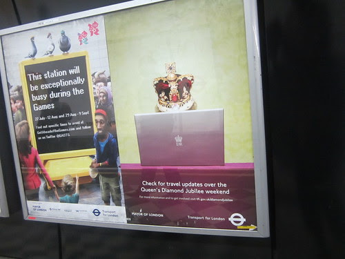 TfL Jubilee Poster