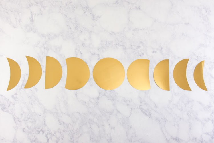 Image result for moon phase garland diy