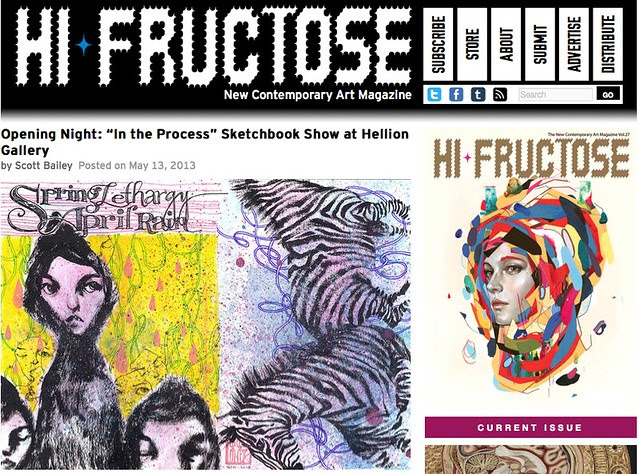 HiFructose coverage of In the Process