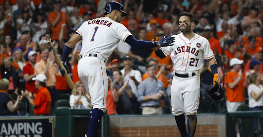 Astros advance to World Series with Game 7 win over Yankees - Houston Chronicle