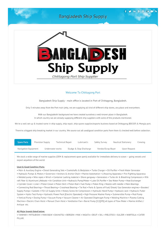 My publications - Bangladesh Ship Supply - Page 1 - Powered by Publitas