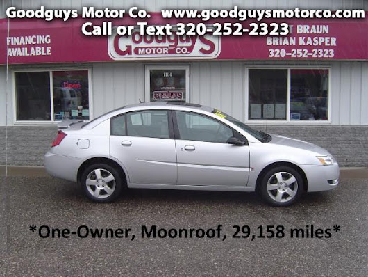 Used 2006 Saturn ION Sedan 3 w/Auto for Sale in st cloud MN 56301 Goodguys Motor Co.