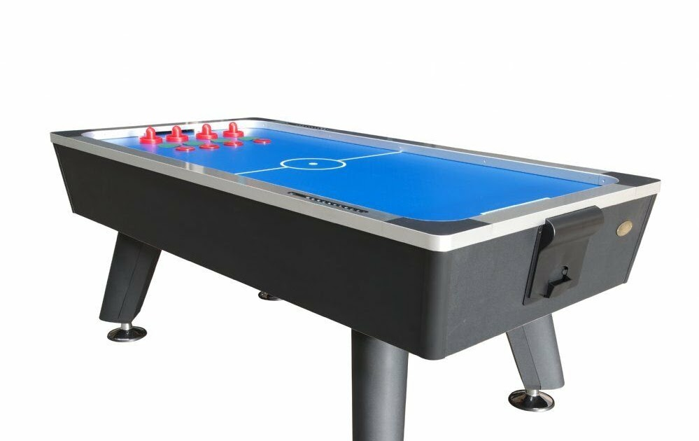 Foot club pro air hockey table by berner billiards w ping for 10 foot pool table