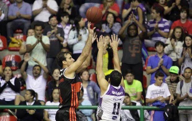 Basquete - Flamengo x Mogi - Jogo 4 semifinal NBB (Foto: Cleomar Macedo)