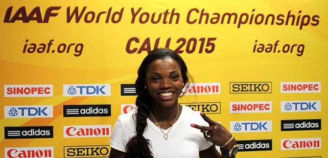 Todos a apoyar el Mundial de Atletismo en el Pascual: Caterine Ibargüen