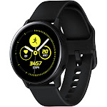 Samsung - Galaxy Watch Active Smartwatch 40mm Aluminum - Black