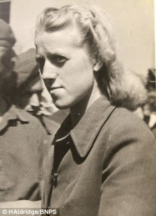 Grese was head of the women's section at the Bergen-Belsen concentration camp