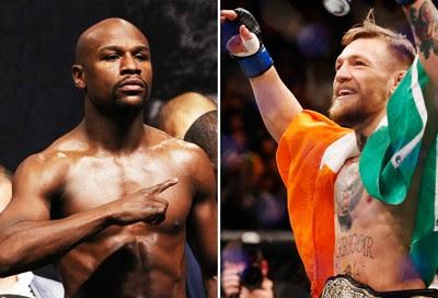 Matéria McGregor e Mayweather (Foto: GloboEsporte.com)