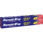 Reynolds Wrap Heavy Duty Aluminum Foil, 18 in x 150 ft, 2-count