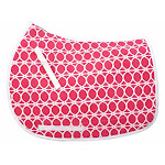 Equine Couture Cory Cool Ride Saddle Pad Hot Pink