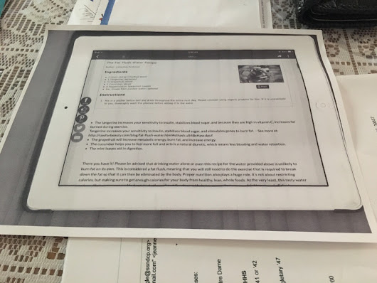 My mom photocopies recipes off of her iPad. - Imgur
