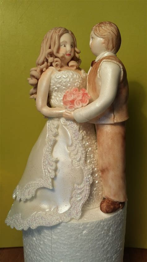 Bride And Groom Cake Topper   CakeCentral.com
