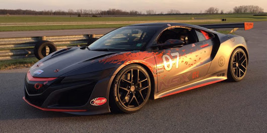 Snapshots: Acura NSX GT2 – Acura Connected
