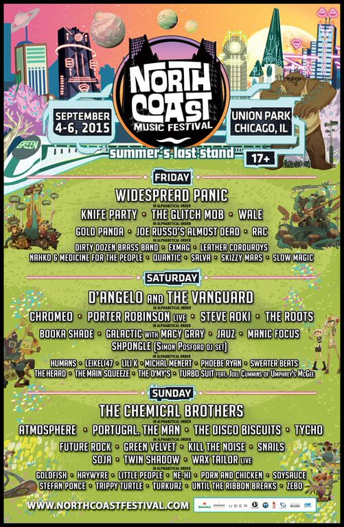 Win (2) Tickets To North Coast Music Festival!