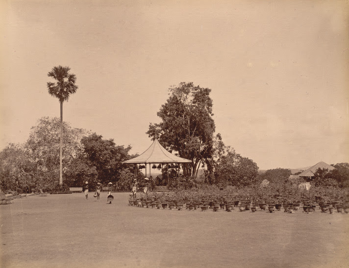 Band Stand in the Public Gardens [Trivandrum]
