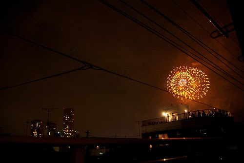 多摩川花火2011