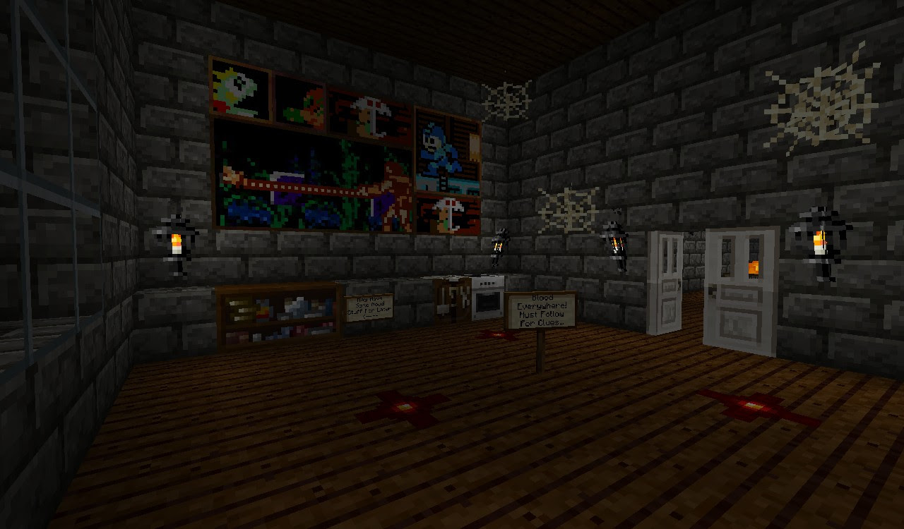 Haunted House Minecraft Project