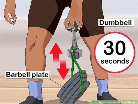 ways  build  powerful grip strength wikihow