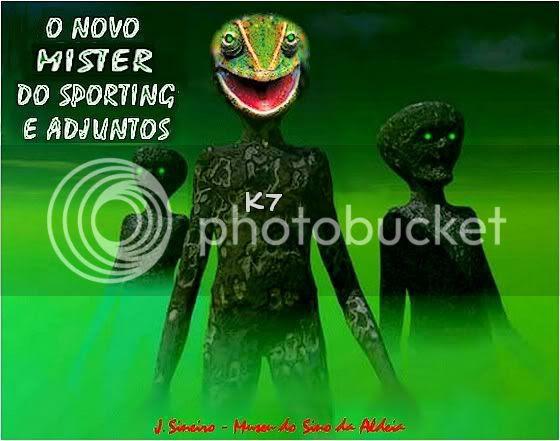 Museu 96 - O Mister do Sporting e adjuntos