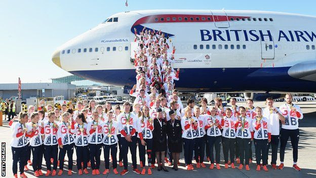 Team GB won 27 gold medals at Rio 2016