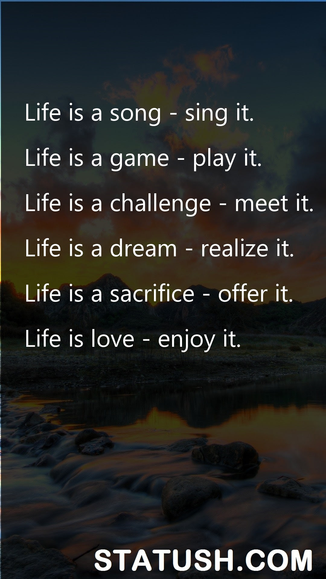 Life Quotes Life Is A Song Sing It