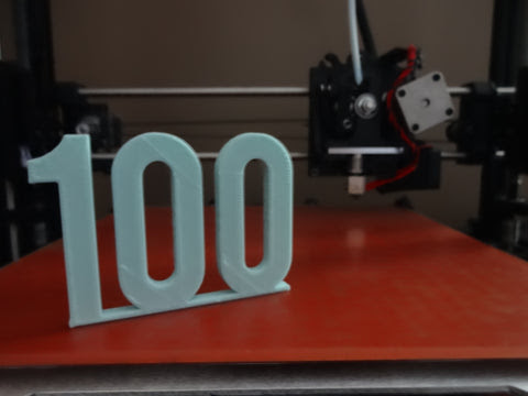 Print Your Mind Celebrates Our 100th Order